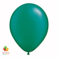 Emerald Green Pearl Latex Party Balloon 12 Inch Inflated delivery Balloon Shop NYC
