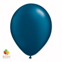 Midnight Blue Pearl Latex Party Balloon 12 Inch Inflated delivery Balloon Shop NYC