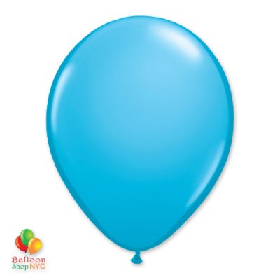 Robins Egg Latex Party Balloon 12 inch Inflated delivery Balloon Shop NYC