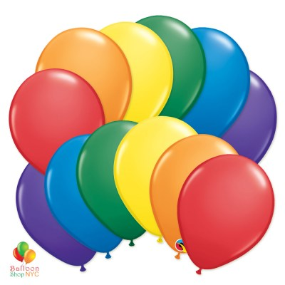Ultimate Rainbow Latex Party Balloons Bouquet for your next party decoration. Select desired quantity to see the price and add to cart. If you want different number of Balloons from what you see preset, choose from our Single Balloons collection delivery from Balloon Shop NYC