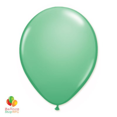 Wintergreen Latex Party Balloon 12 Inch Inflated delivery Balloon Shop NYC