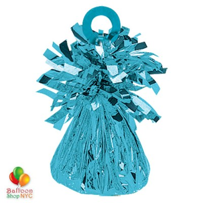 Foil Balloons Weight Small Light Blue Bright Colors for High-quality cheap balloons nyc delivery
