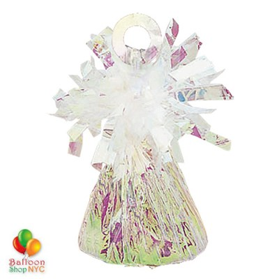 Foil Balloons Weight Small Iridescent Bright Colors for High-quality cheap balloons nyc delivery