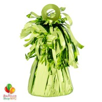Foil Balloons Weight Small Lime Green Bright Colors cheap balloons nyc delivery