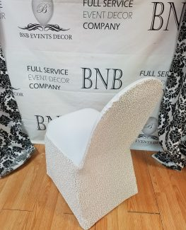 crochet christmas chair covers white crushed velvet bnb events decor sequins spandex cover