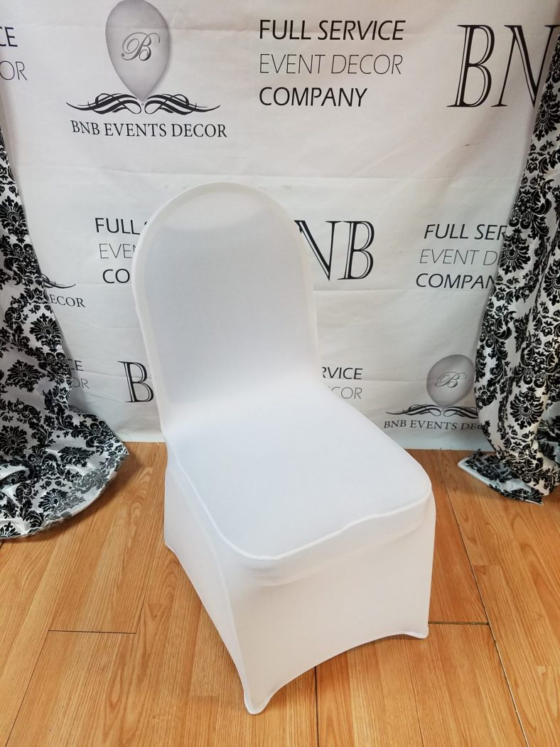 chair cover rentals baltimore md wedding hire nottinghamshire white spandex | bnb events decor
