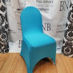Blue Spandex Chair Covers Outdoor Fabric Malibu Cover Bnb Events Decor
