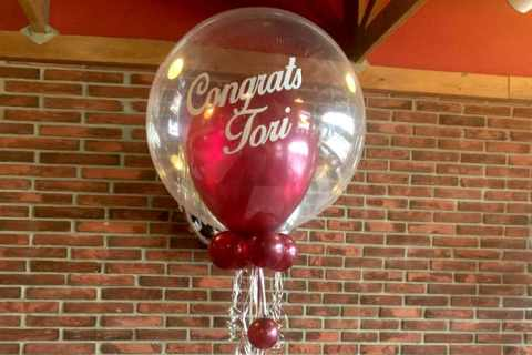 graduation balloon bouquet