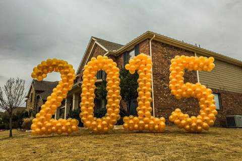 Giant Balloon Numbers 2015