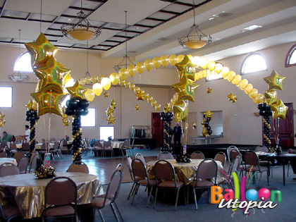 San Diego Classic Decor By Balloon Utopia
