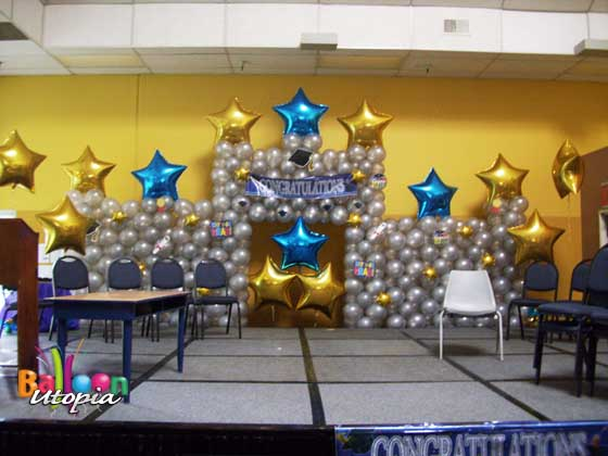 Star Themed Decor by Balloon Utopia