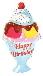 32 happy birthday ice