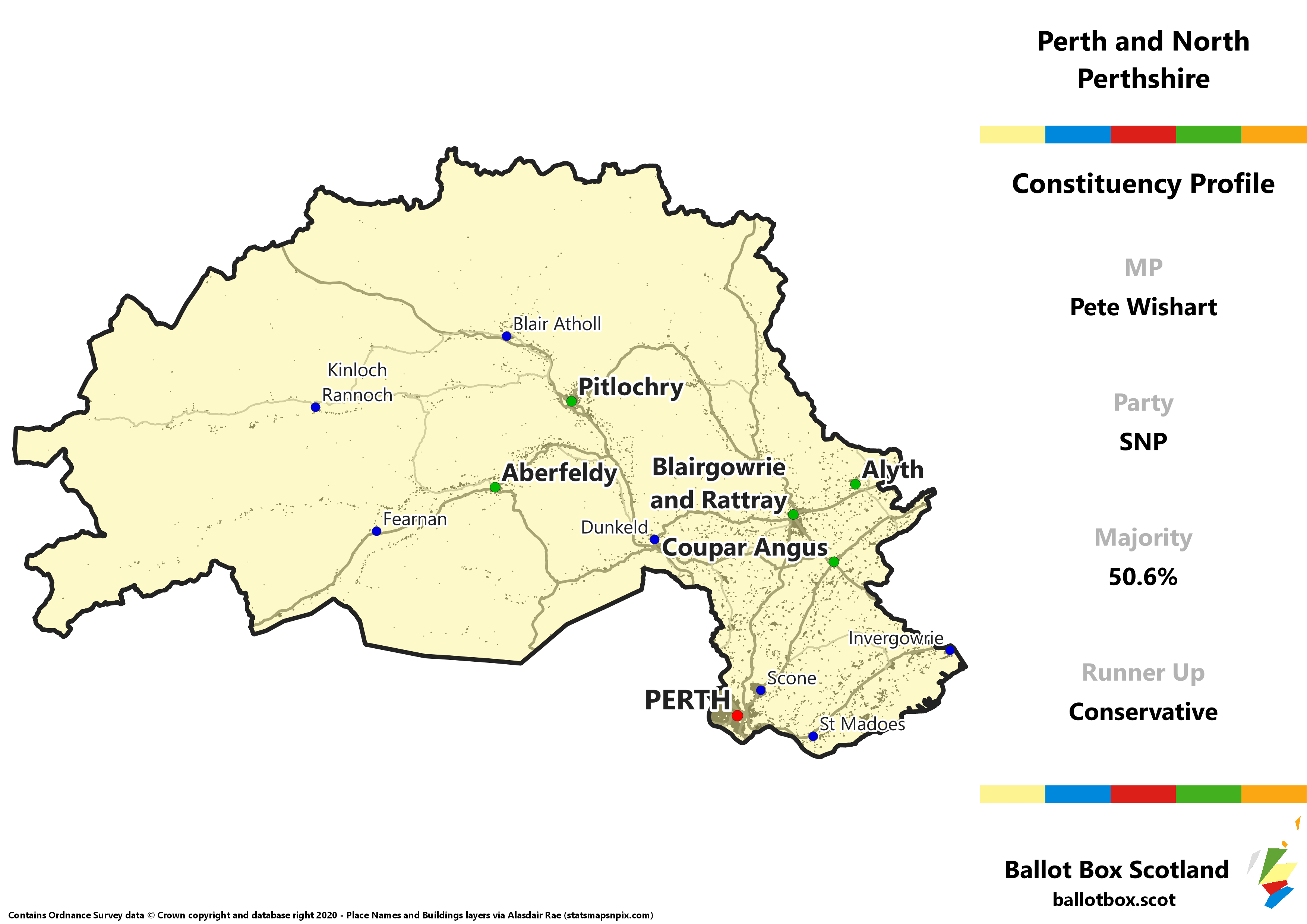 Perth and North Perthshire Constituency Map