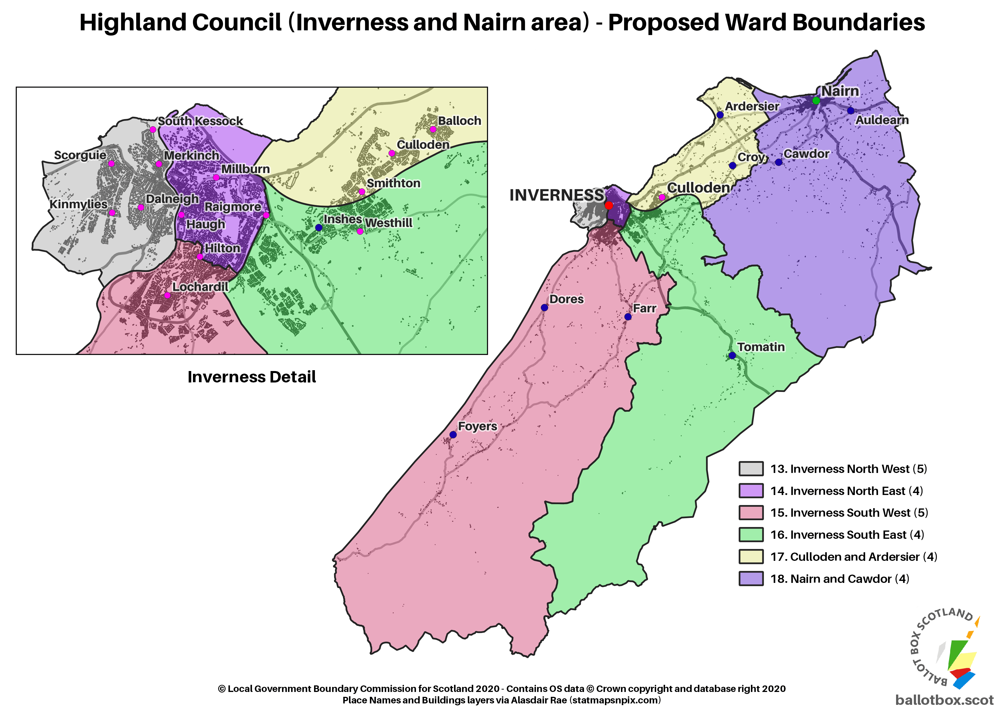 Inverness Proposed
