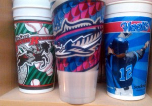 some minor league cups