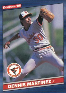 Current Astros Bullpen Coach Dennis Martinez threw a Perfect Game on July 28, 1991. Martinez was rooting for Yu Darish to join the fraternity as well.