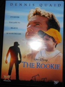 The real life story of a Texas teacher turned Major League pitcher portrayed in the Rookie is one of the feel good movies about baseball. Photo R. Anderson