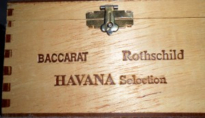 """While I am not a smoker I do collect cigar boxes and ones marked """"Havana"""" always seem to be a bit more special. Photo R. Anderson"""