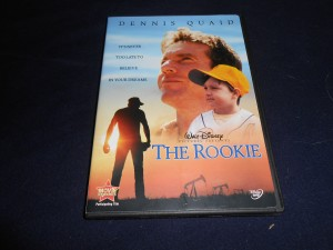 The number 4 movie on the Triple B totally subjective top 10 countdown of baseball movies is The Rookie starring Dennis Quaid. Photo R. Anderson
