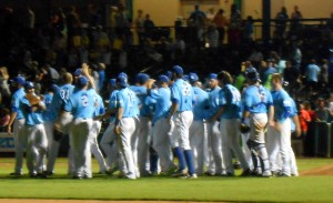 The Sugar Land Skeeters are heading to the playoffs for the second straight year.  Photo R. Anderson