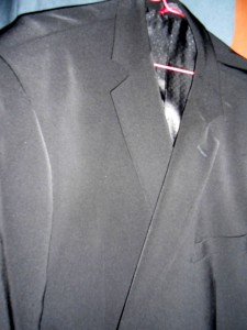Since returning from the funeral in November my suit jacket has sat neglected and alone in a dark closet devoid of purpose aside from striking up conversations with the other jackets that are also hanging in there.
