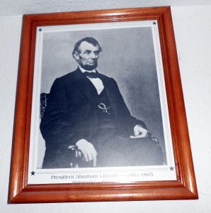 Monday we celebrate Abraham Lincoln's Birthday along with honoring every other person to occupy the Oval Office. Photo R. Anderson