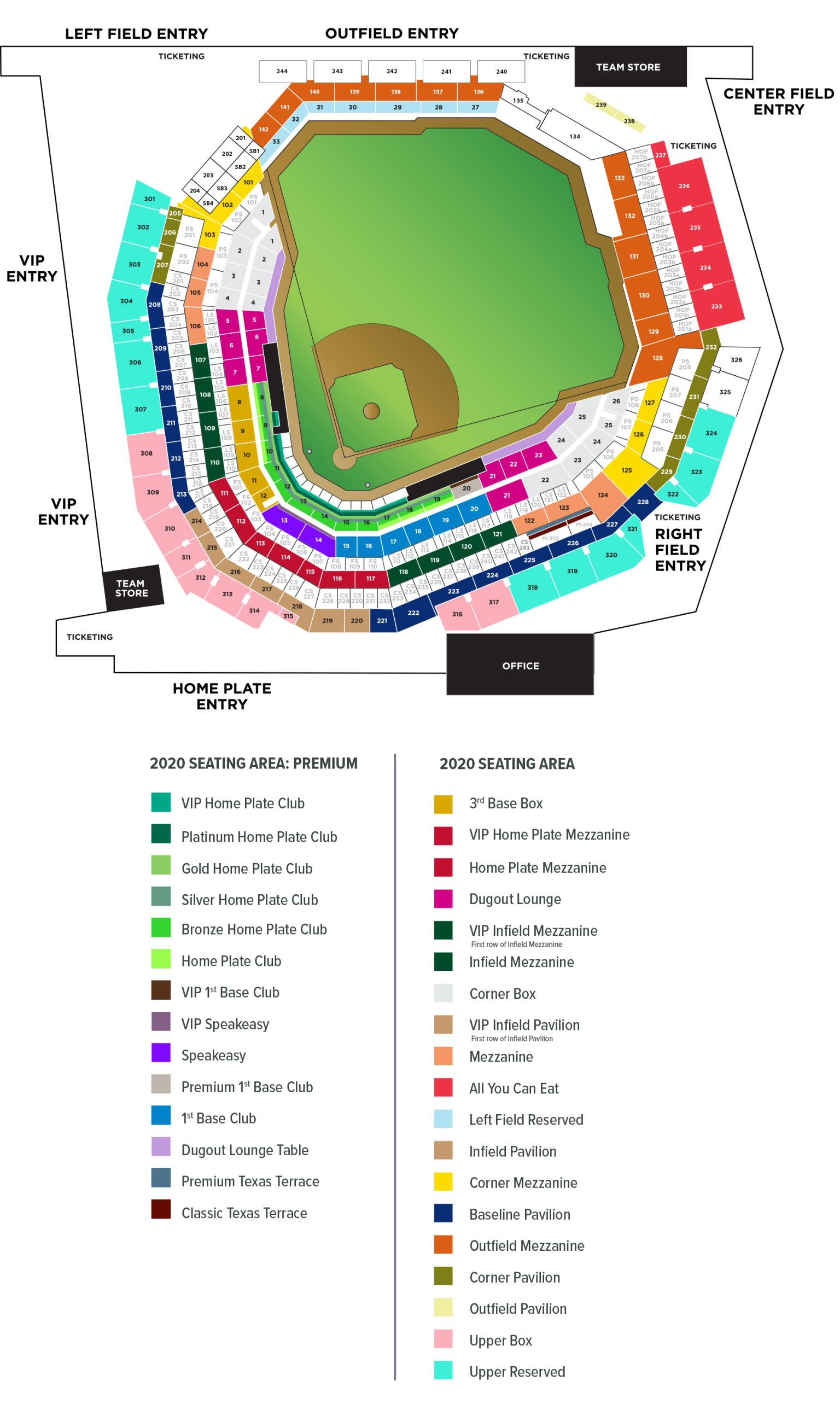 Citizens Bank Park Seating Chart : citizens, seating, chart, Globe, Field, Pictures,, Information, Future, Texas, Rangers, Ballpark