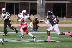 Darian Green was held to just 34 yards rushing against Northern Illinois