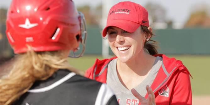 Coach Megan Bartlett