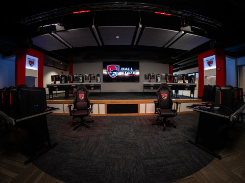 Ball State Esports Center Competition Arena