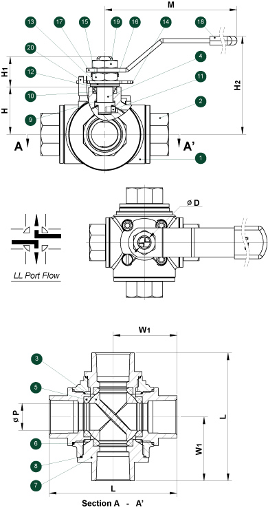 picture of schematic and materials list
