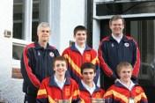 Senior Badminton Treble Winners