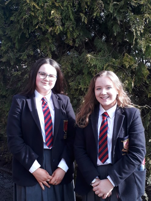 Rebecca Alcorn Rachel Armstrong gained places in Ulster Youth Orchestra