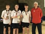 Ulster Schools' Junior Boys Div 2 winners