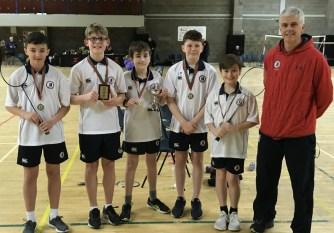 Yr8 Ulster Schools' Div 2 Badminton winners