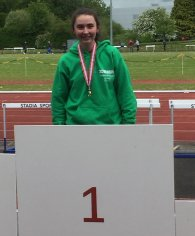 Katie McCullough Ulster Javelin Champion Ballyclare High
