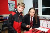 Mandatory Credit - Picture by Freddie Parkinson © Tuesday 7 January 2020 Ballyclare High School Open Night Nathanael Robinson and Ashleigh McIlroy