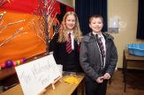 Mandatory Credit - Picture by Freddie Parkinson © Tuesday 7 January 2020 Ballyclare High School Open Night Jenna Dan Hasse and Reuben Thompson.