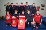 Mandatory Credit - Picture by Freddie Parkinson © Tuesday 7 January 2020 Ballyclare High School Open Night Rugby boys