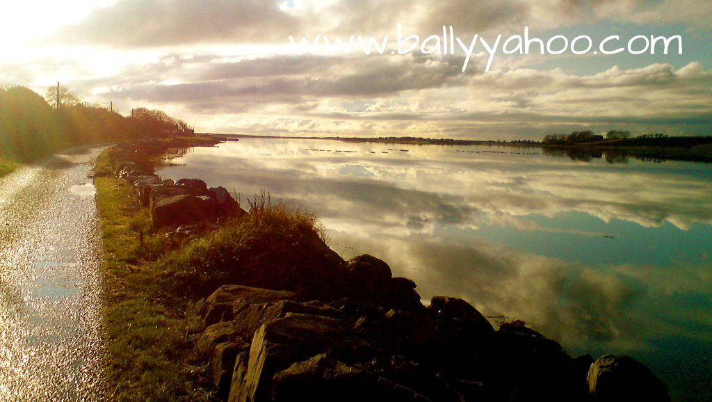 reflection over beautiful bay illustrating a page about the magic of nature on a children's stories website