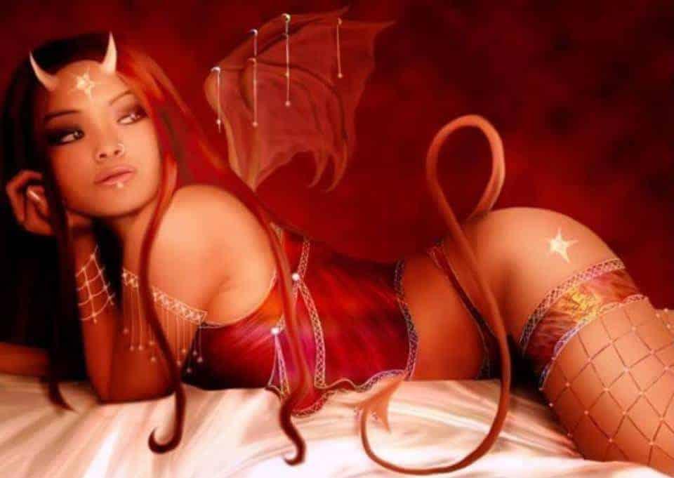 facebook flirt sexy devil