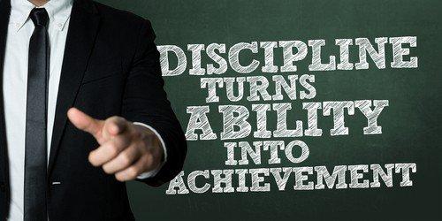 traits of success discipline