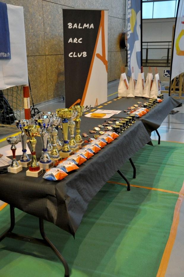 Balma Arc Club - Concours en salle 2 et 3 décembre 2017