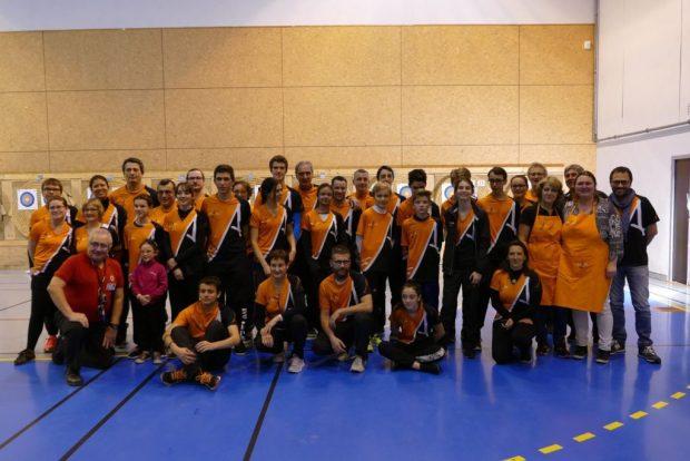 Balma Arc Club - Concours 6 et 7 janvier - Les archers du samedi