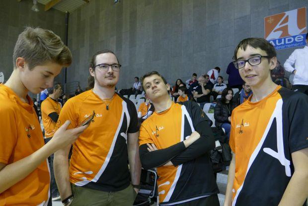 Balma Arc Club - Championnat de ligue jeunes Carcassonne - Equipe soudée