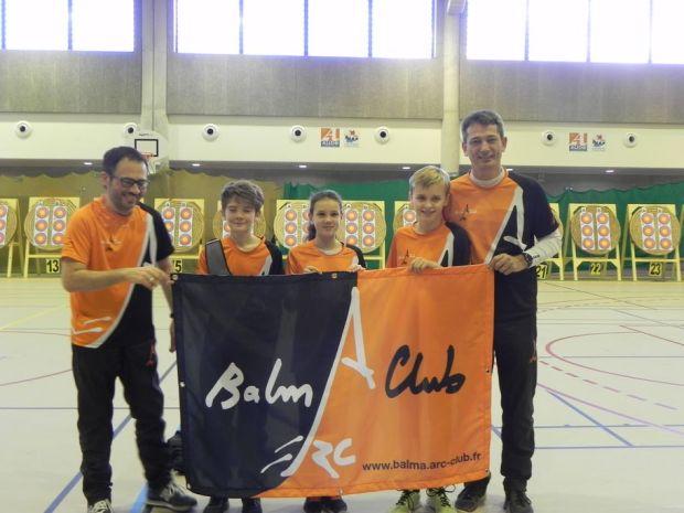 Balma Arc Club - Championnat de ligue jeunes Carcassonne - Groupe samedi