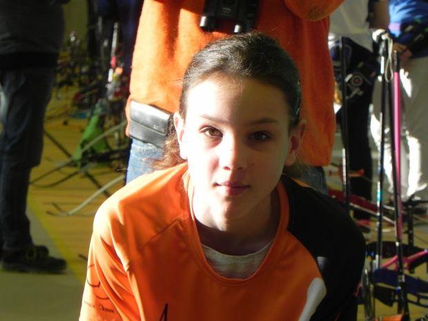 Balma Arc Club - Championnat de ligue jeunes Carcassonne - Méganne Houdayer