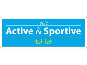 Logo ville active et sportive