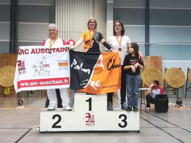 Balma Arc Club - Championnat régional salle - Auch - podium S2 classique