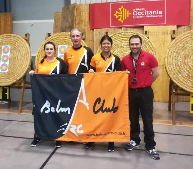 Balma Arc Club - Championnat régional salle - Auch - dimanche